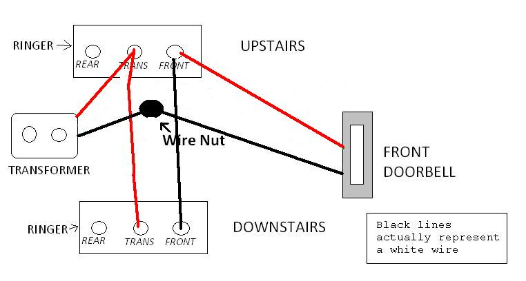 wire up another doorbell  - electrical