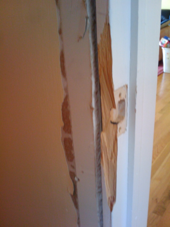 Marvelous Repairing Bedroom Door Jamb Doorjam2