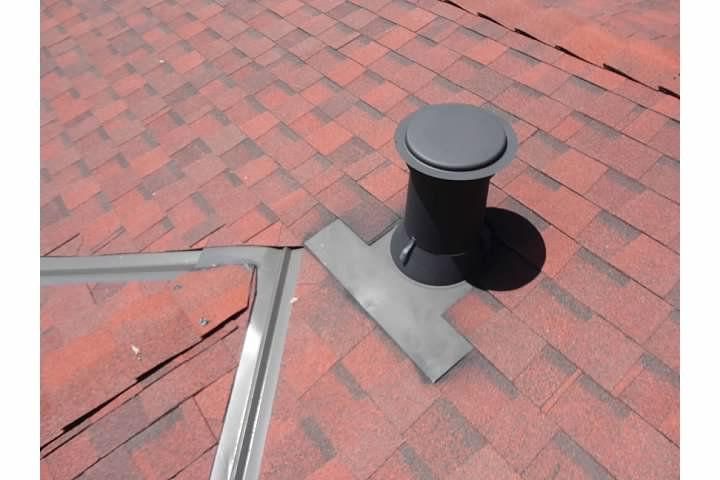Roof Jack And Cap Improper And Problem For Wall Furnace