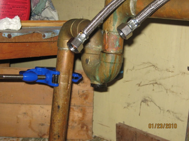 Help, help, help, trying to cut old drain & keeps crushing.-drain-crushng-when-trying-cut-second-spot.jpg