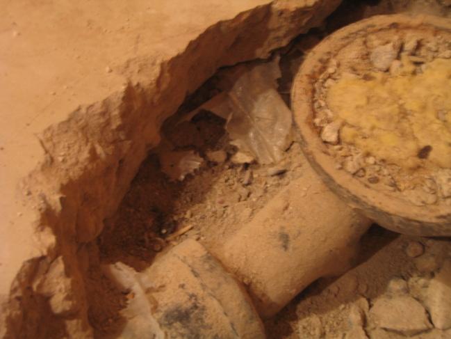 Replacing below grade shower drain-drain.jpg