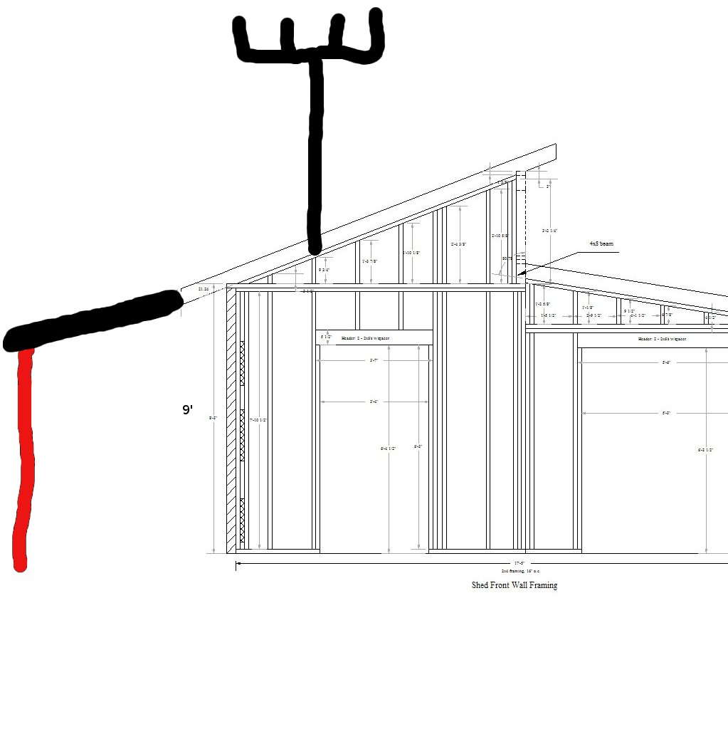 Leanto Roof & Picture Of Lean-to Roof Sc 1 St Dictionary