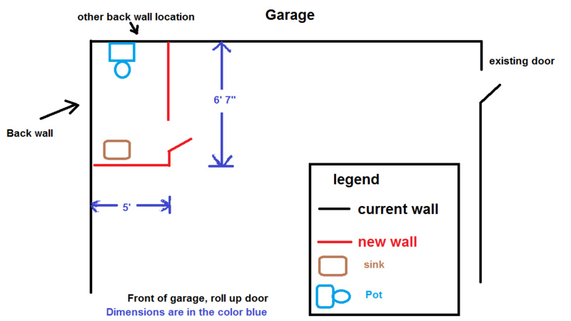 Bathroom In Detached Garage Question Drawing July 2017 1