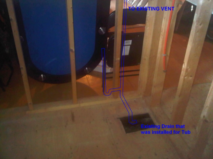 Installing washer and dryer in basement in former tub enclosure.-driansketch.jpg