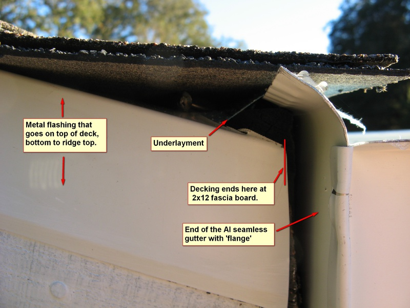 Does Seamless Gutter Need A Drip Edge Roofing Siding