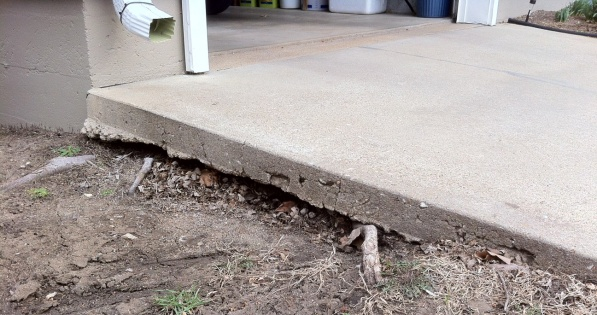 How To Repair Erosion Underneath Driveway Concrete