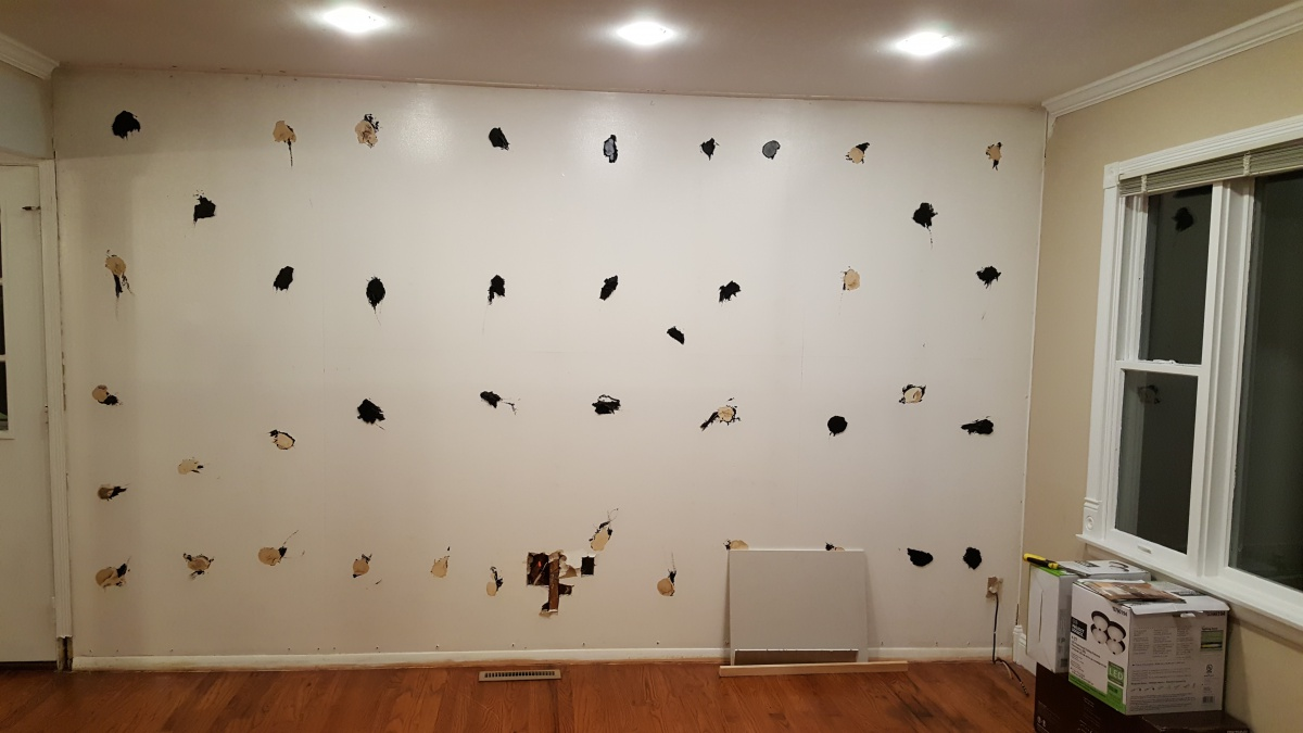 feedback old glue from mirror drywall plaster diy chatroom home improvement forum. Black Bedroom Furniture Sets. Home Design Ideas