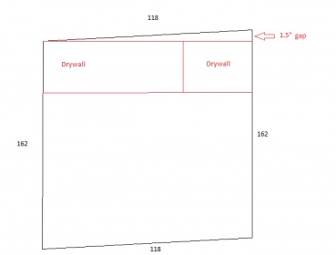 Best Way To Install Drywall On Uneven Ceiling Drywall