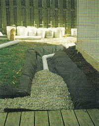 French Drain Distance From Foundation Landscaping Lawn