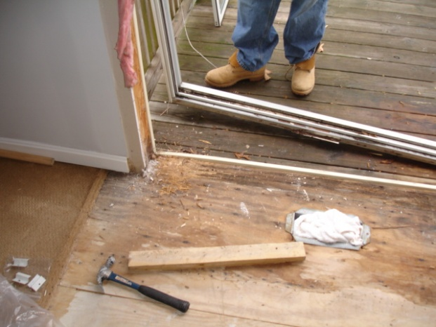 Replacing A Sliding Glass Door Question Carpentry Page 3 Diy