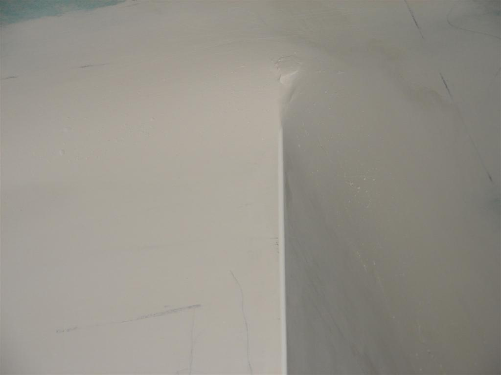 Curved Corners Where Drywall Meets