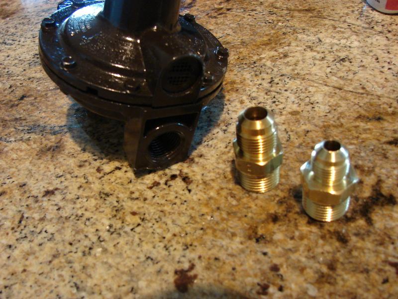 How do i hook up a propane stove
