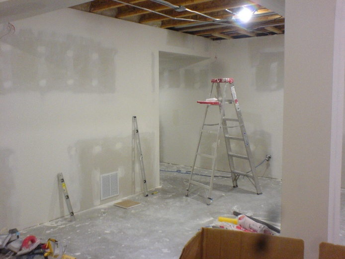 how to finish new drywall