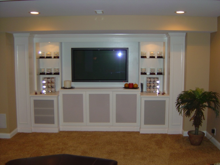 Helpful Ideas For Built In Media Cabinets ?