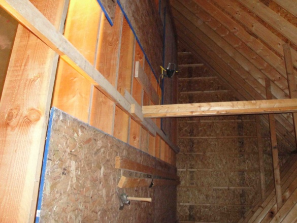 Installing Osb Subfloor In Garage Attic Flooring Diy