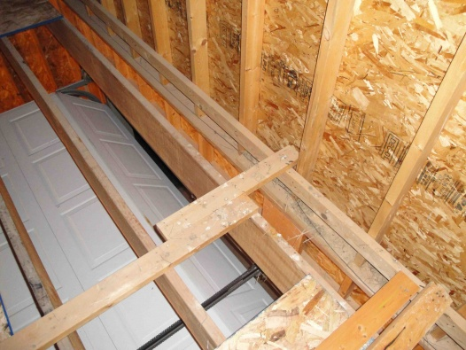 Installing Osb Subfloor In Garage Attic Flooring Diy
