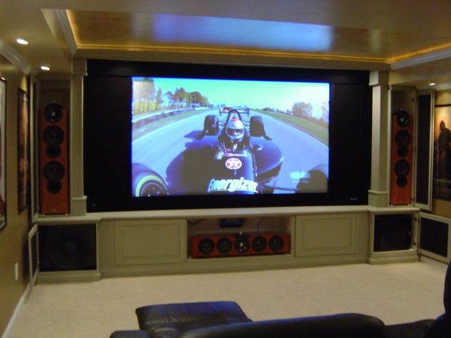 Helpful Ideas For Built-In Media Cabinets ? - Home Theater - DIY ...