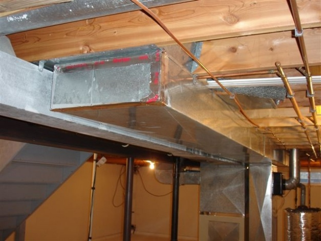 Properly Sealing Hvac Duct Work Hvac Diy Chatroom Home