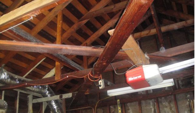 Garage Ceiling Braces Building Amp Construction Diy