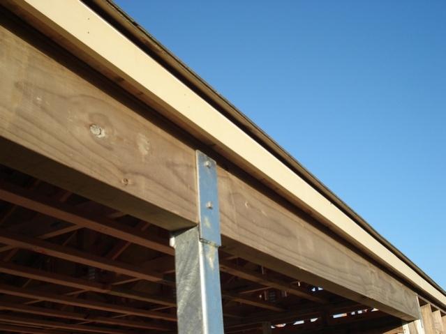 Carport posts carpentry diy chatroom home improvement forum