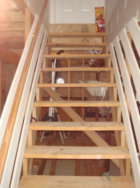 Bon Basement Stair Fininshing Advice / Skirt Board Dsc03799 ...