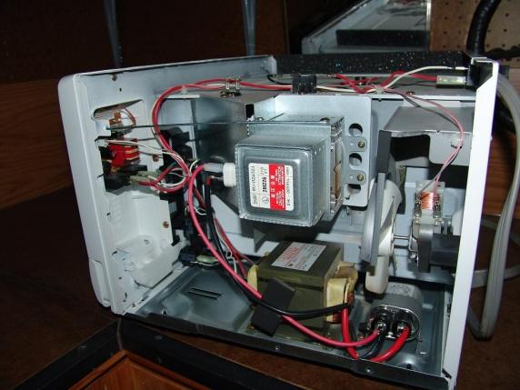 Sharp R-308jw Microwave - Appliances