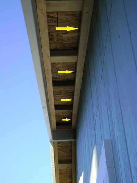 Soffit Vents Gable Side Building Amp Construction Diy