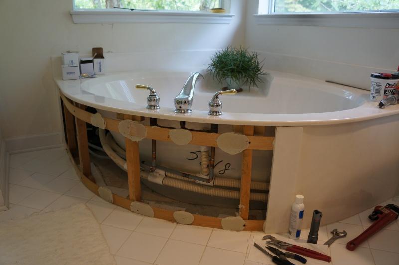 Genial Access To Replace Plumbing For Roman Tub Dsc05122