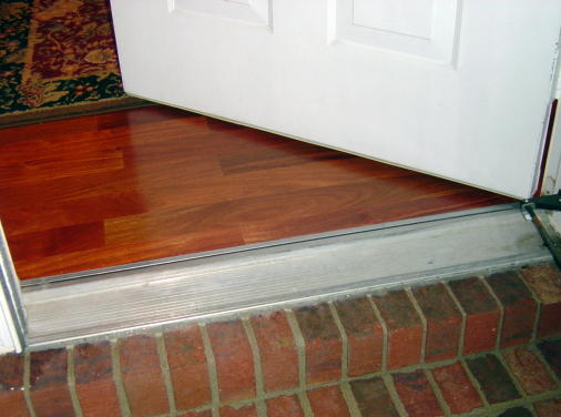 ... Help with FRONT DOOR threshold....(pictures)-dsc05734.jpg ... & Help With FRONT DOOR Threshold....(pictures) - General DIY ...