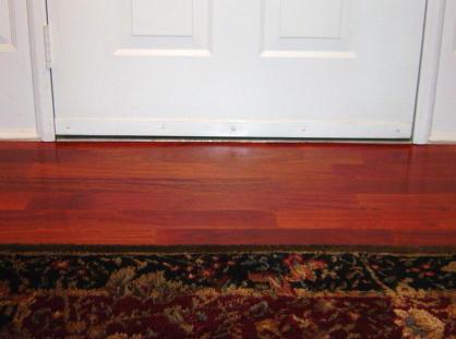 Front Door Wood Threshold Door threshold adjustment Wood s Home