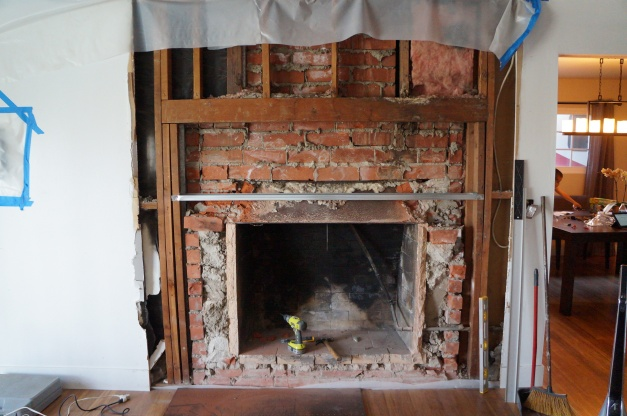 Insulation Around Old Brick Fireplace - Insulation - DIY Chatroom ...
