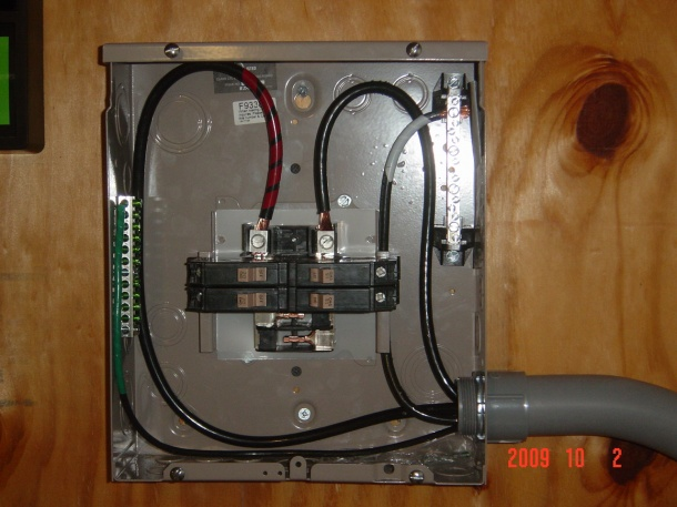 100 Amp Attached Garage Sub Plan - Electrical - DIY ...