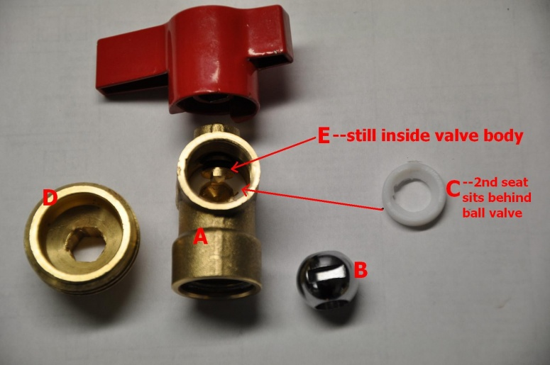 Washing Machine Supply Valve Leak. - Plumbing - DIY Home Improvement ...