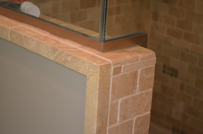 How To Tile A Corner Where 3 Edges Meet - Tiling, ceramics, marble ...