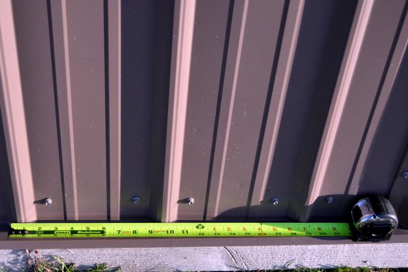 Flashing On Corrugated Steel Siding Roofing Siding