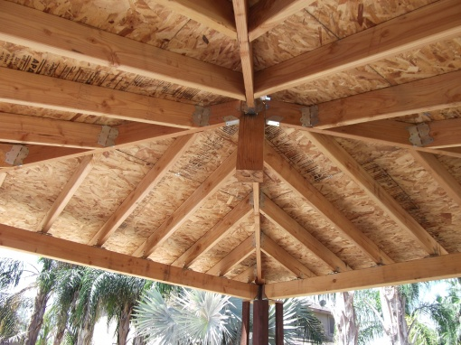 6x6 Posts For Hip Roof Gazebo Landscaping Amp Lawn Care