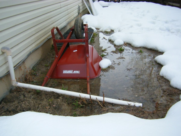 Sump Pump Discharge Hose Ideas