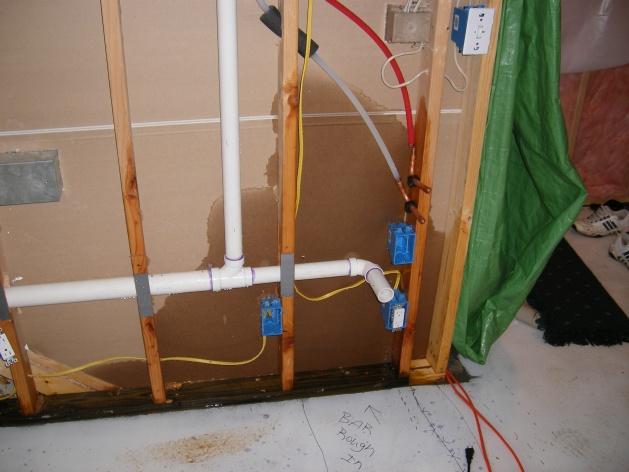 Dscf0651 Water In Basement. Plumbing Company Responsible?