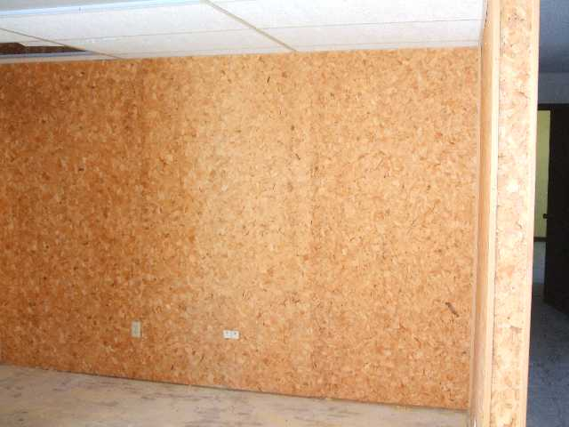 Particle Board Acceptable For Wall Covering In House