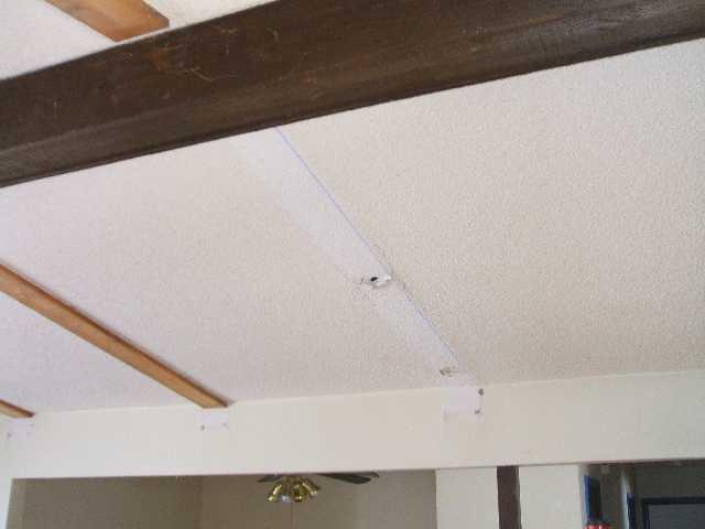 textured ceiling repair