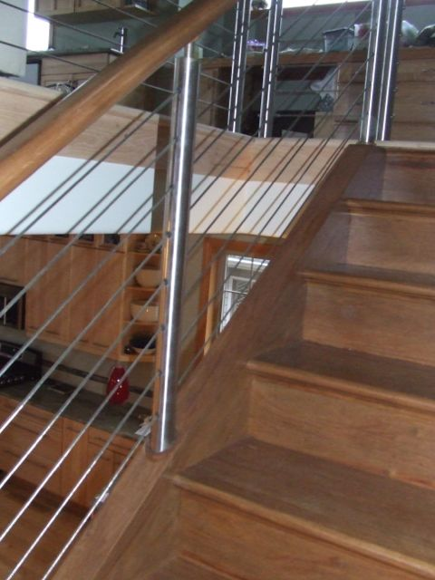 Wire Staircase Railings Remodeling Diy Chatroom Home