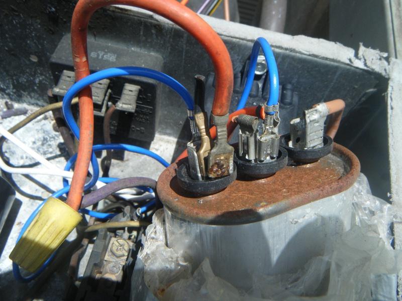 Im Replace Fan Motor On Outside Condensor Fan - Hvac