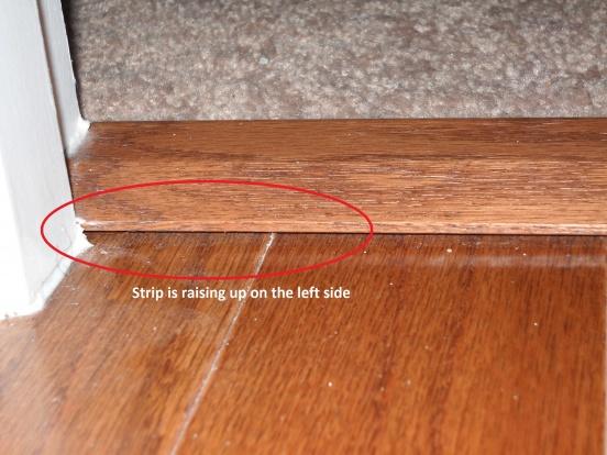 Hardwood To Carpet Transition Piece Flooring Diy Chatroom Home