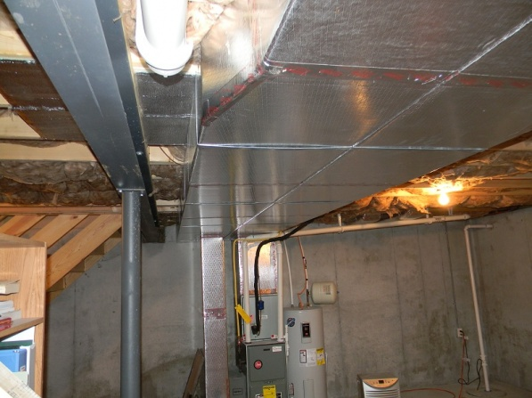How To Tap Into Existing Ducts For Basement Hvac Diy Chatroom