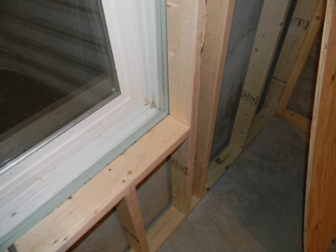 Finishing a window after drywall building for Drywall around windows