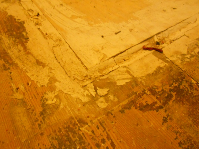 14 Pine Plywood Self Leveling Compound Ditra Tiling Ceramics