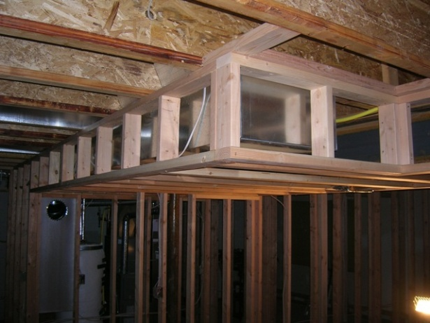Fireblock Basement Soffits Building Amp Construction Diy