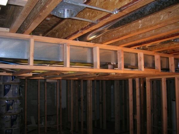 Fireblock Basement Soffits Building Amp Construction Diy