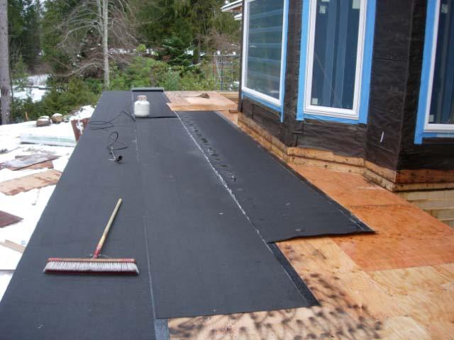 Torch On Roof Membrane On Deck Dscn1444