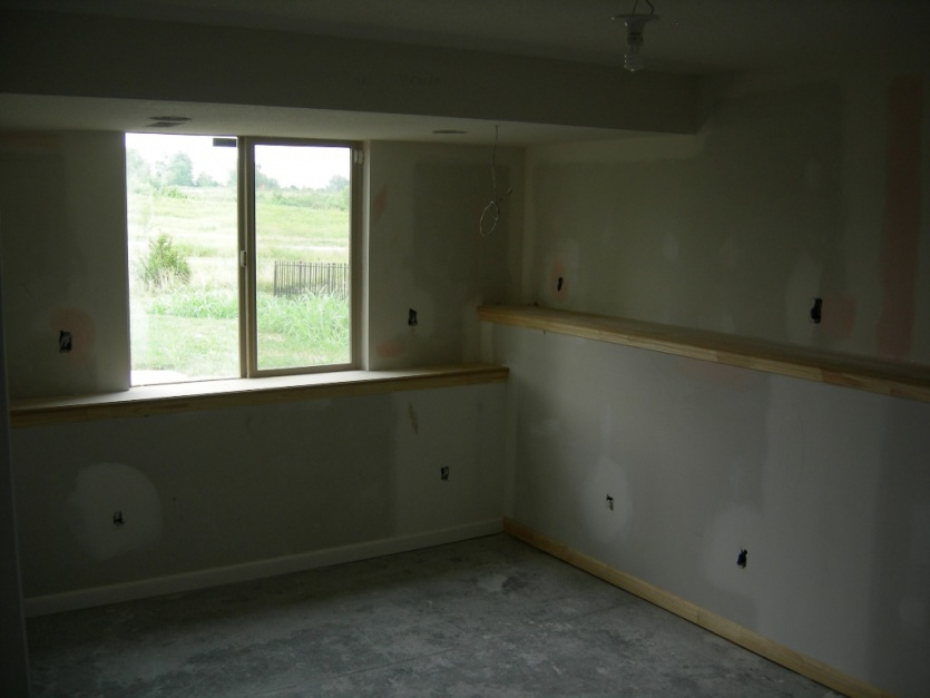 How To Make Basement Window Sills Wall Shelves